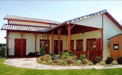maison prfabrique en bois elegant minergiep toit plat with maison prfabrique en bois latest. Black Bedroom Furniture Sets. Home Design Ideas