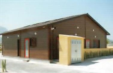 Bloc sanitaire en bois constructeur et fabricant for Bloc construction bois