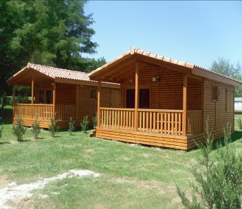 Bungalow en bois et chalet en bois pr fabriqu - Maison mobile fabricant ...